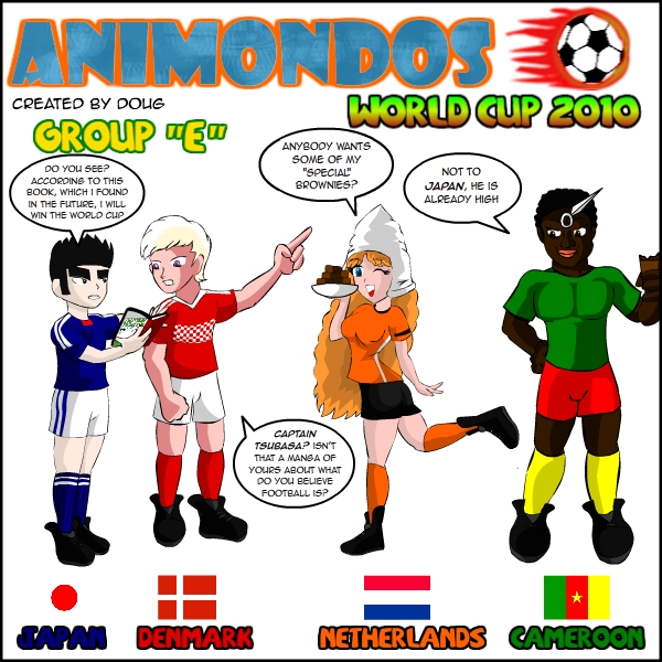 Animondos World Cup Group E
