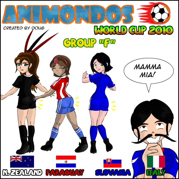 Animondos World Cup 2010 Goup F