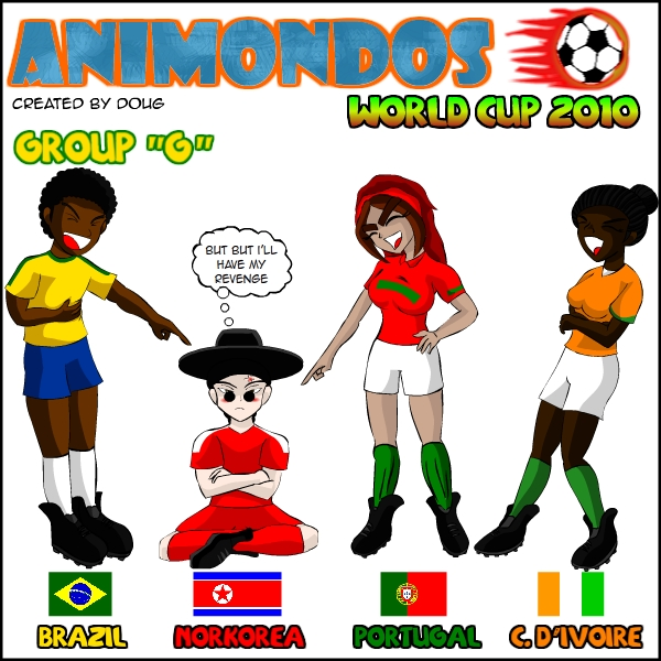 Animondos World Cup Group G