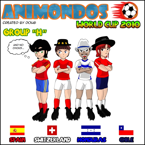 Animondos World Cup 2010 Group H