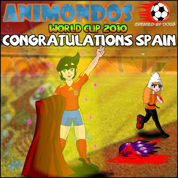 Spain World Cup's Champion of the World 2010